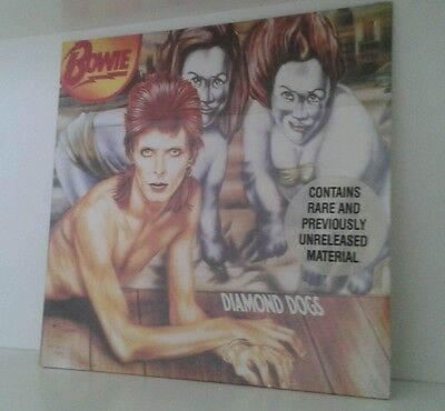 David Bowie Diamond Dogs Italy 1990 Lp Sealed!
