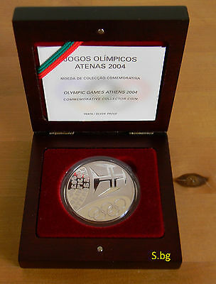 Portugal 10 Euro 2004 SILBER Proof - PP Olympic Sport - Jogos Olimpicos Athen