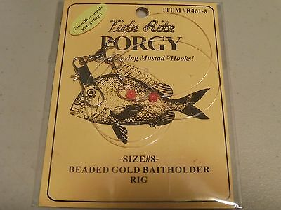6 KINGFISH PERCH SPOT RIGS TIDE RITE R250 HI-LO SALTWATER RIG FISHING MUSTAD