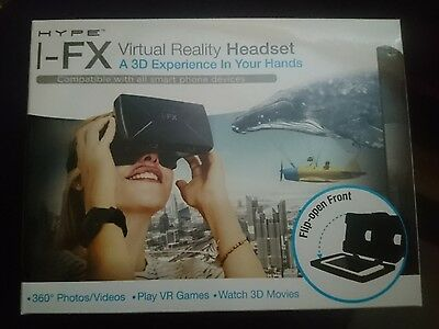 Hype I-FX Virtual Reality Headset (compatible with smartphone)