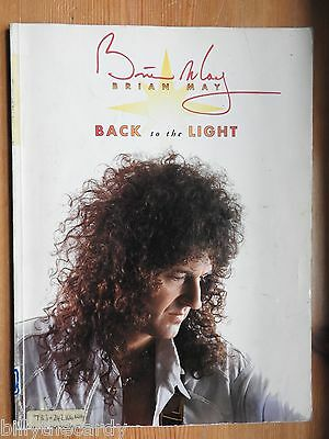 Brian May - Back to the Light song book piano guitar