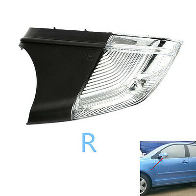 Right Driver Mirror Indicator Turn Signal Light for VW Polo 9N3 01-09 1Z0949102C