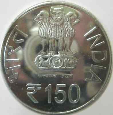India, 150 Rs Silver Coin Set Issued By India Government Mint.