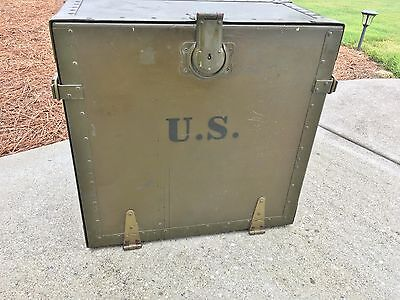 Original Wwii Us Military Field Desk - Early Date 1942 - Us Army