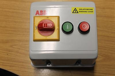 ACEL AC3660 DOL Starter, Sunseeker , Switch Box