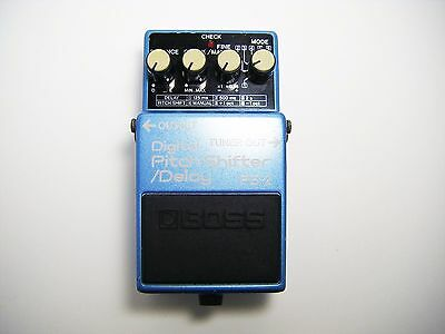 BOSS PS-2 Digital Pitch Shifter Guitar Effect Pedal Made In Japan MIJ