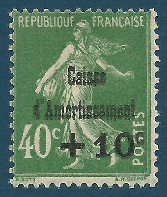France - N°253 - Caisse D'amortissement Neuf** - Cote: 50,00€