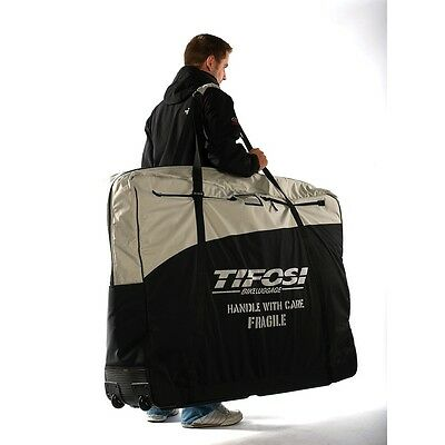 "NEW TIFOSI PADDED BIKE BAG For Road Bikes or up to 29"" MTB Travel Case"