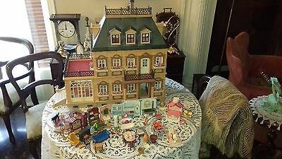 Playmobil Grand Victorian Mansion House 5300 With Furniture Sets 99% Complete