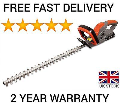 Terratek 18V Lithium-Ion Cordless Hedge Trimmer, 51Cm (510Mm) Cutting Length