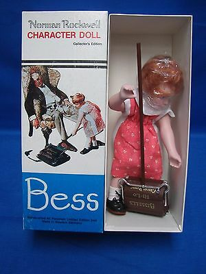 1982 Norman Rockwell BESS doll in Original Box by Rumbleseat Press RPI/NR-12