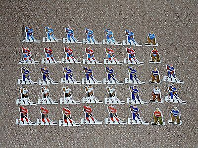 1970s Munro NHL Hockey Table Top Lot of 73 Players from 12 Teams