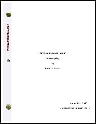 Saving Private Ryan - THE MOVIE SCRIPT / SCREENPLAY