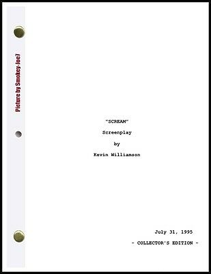 Scream Trilogy - THE MOVIE SCRIPT / SCREENPLAY