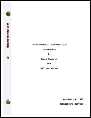 Terminator 2: Judgment Day - THE MOVIE SCRIPT / SCREENPLAY