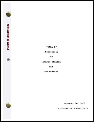 Wall-E - The Movie Script / Screenplay
