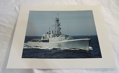 HMCS Annapolis 265 Royal Canadian Navy Destroyer 11x14 Photograph Military Ship