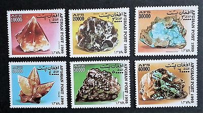 Afghanistan (1999) Minerals / Stones / Gems - Mint (MNH)