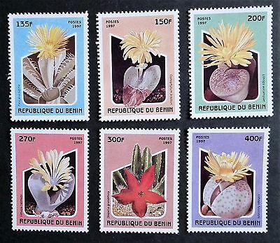 Benin (1997) Cactus / Nature / Plants and Flowers - Mint (MNH)