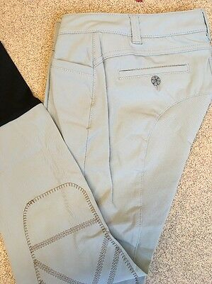 Animo Breeches jodhpurs  I-40 Uk8-10 US8 BN Sky