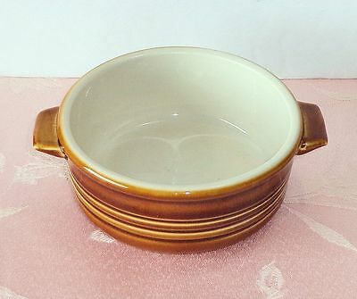 Wade England COUNTRY WARE Brown Small Casserole Dish Handled Bake Dish