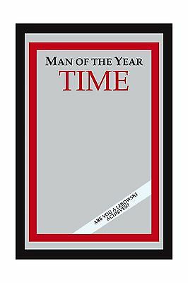 "The Big Lebowski - Time: Man Of The Year Bar Mirror (Size: 9"" x 12"") - NEW"