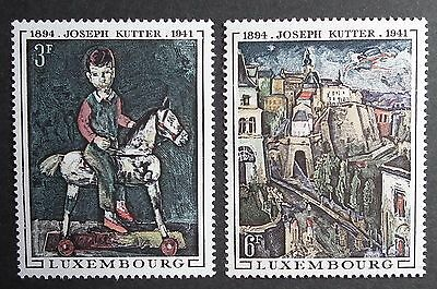 Luxembourg (1969) J Kutter Paintings / Art / Artists / Horses - Mint (MNH)