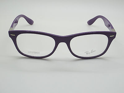 NEW Authentic Ray Ban RB 7032 5437 LITEFORCE Purple 50mm RX Eyeglasses