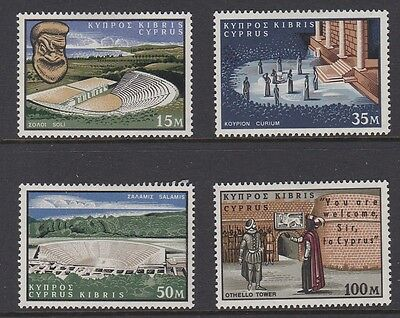 CYPRUS 1964 Shakespeare MINT set sg242-245