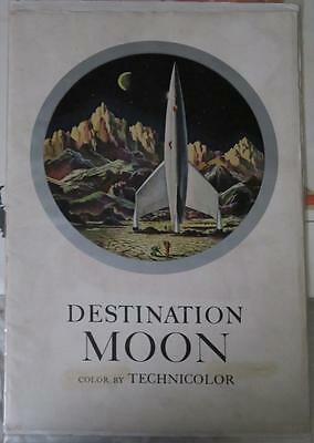 Destination Moon - Pressbook (with rare comic book sized insert)!!