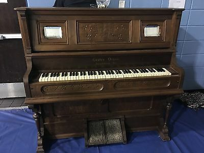 Beautiful Antique Gruber Pump Organ