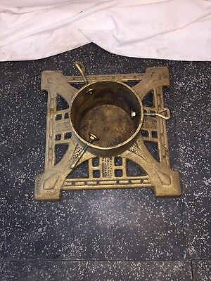 Vintage Cast Iron Christmas Tree Stand - Free Shipping