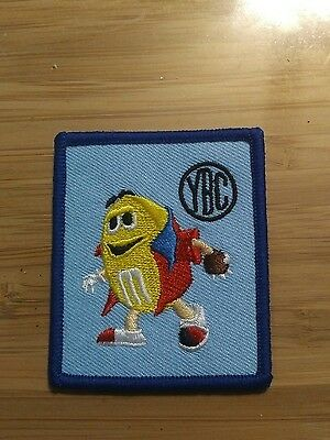 m m collectible patch