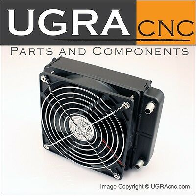 Heat Exchanger For CNC Spindle Motor Water Cooling System CNC Router or Mill