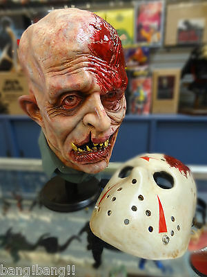 Friday 13th Mask Head Bust Jason Vorhees  1/1 scale Prop Replica