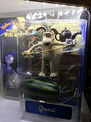 """Collector's Item! Wallace and Gromit Grommit 6"""" McFarlane Watermelon Wererabbit"""