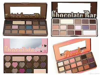 Hot***Too Faced Eyeshadows Palette Sweet Peach/Bon Bons/Semi Sweet Chocolate Bar