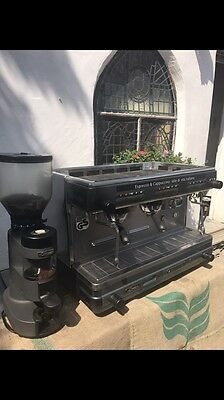 La Cimbali M32 2 Group Commercial Coffee Machine, Grinder, Professional Restore