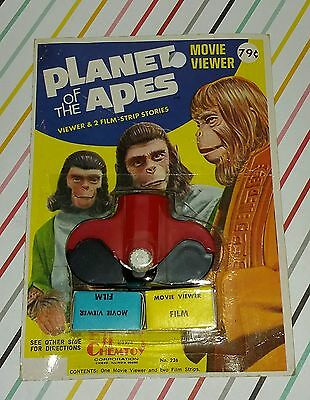 Vintage 1970s Planet of the Apes Chem toy Movie Viewer