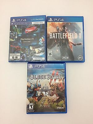PS4 Video Games (USED) Lot 3
