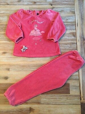 Pyjama Velours Fille Sergent Major 4 Ans 💕