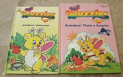 WUZZLES Vintage 1980s First Edition Books Disney