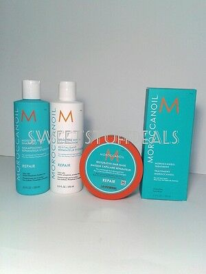 Moroccanoil Repair Shampoo and Conditioner 250ml Combo Set