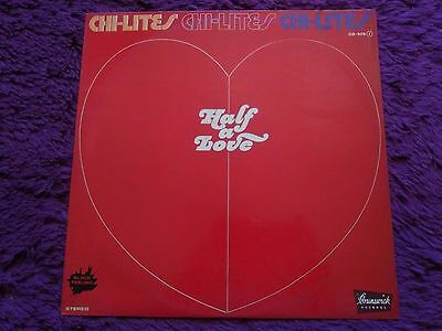 The Chi-Lites ‎– Half A Love , Vinyl, LP, 1976 , Spain , ZLB - 2018