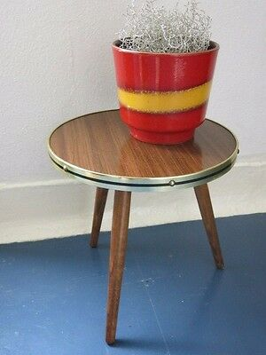 Vintage Mid Century Modernist East German Plant Stand 20th Century Plant Table