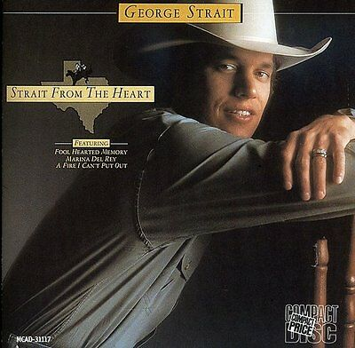 Strait From The Heart - George Strait (CD Used Very Good)