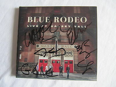 Blue Rodeo Signed Autographed Live At Massey Hall Cd Digipack Jim Cuddy Classic!