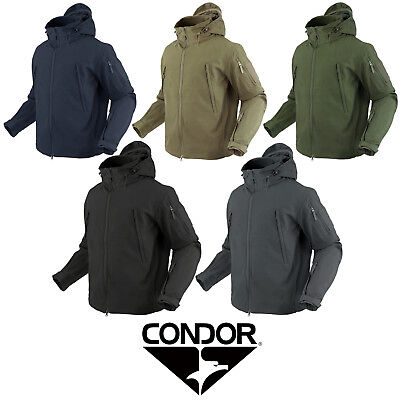 Condor 602 Tactical Hunting Hiking 3 Layer SUMMIT Soft Shell Winter Jacket Coat