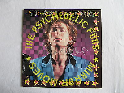 Richard Butler The Psychedelic Furs Mirror Moves Signed Autographed Lp Record