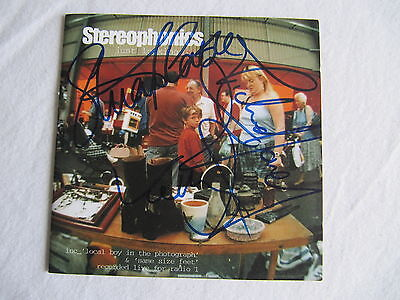 Stereophonics Signed Autographed Cd Cover Stuart Cable In-Person Rare!